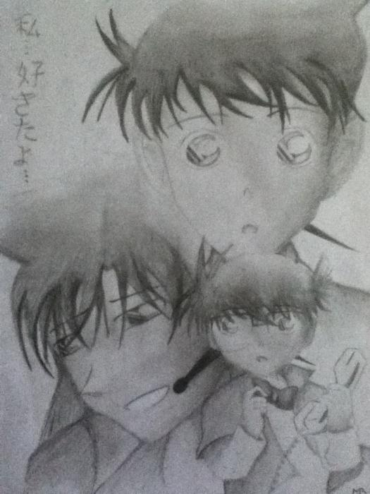 Detective Conan by Malvinou